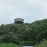 雄冬岬灯台から日本海を望む